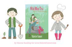 Guest Post with Illustrator Hanna Sandvig - Valerie Comer