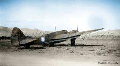 Bristol  Blenheim   MkI. Royal  Hellenic  Air  Force  (R.H.A.F.), 32th  Bombing Squadron. Ελληνική  Βασιλική  Αεροπορία  (Ε.Β.Α.), της 32ης  Μοίρας  Βομβαρδισμού.  by Markos Danezis
