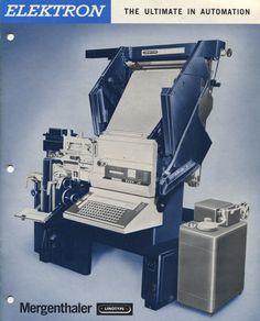 Linotype Elektron (1960s-70s).
