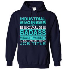 Industrial Engineer T-Shirts, Hoodies. ADD TO CART ==► https://www.sunfrog.com/LifeStyle/Industrial-Engineer-4576-NavyBlue-Hoodie.html?id=41382