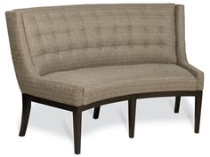 Shop for Vanguard Alton Banquette, WL715-BQ, and other Dining Room Benches at Vanguard Furniture in Conover, NC. Optional. Placement: Base.Species Used: Ash. Seat Construction: Webbed Seat.Standard Seat Cushion: Poly Dacron, Tight Seat.