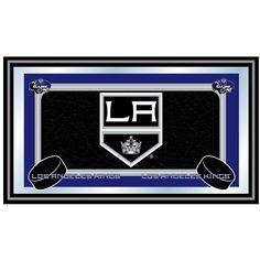 Trademark Commerce NHL1525-LAK NHL Los Angeles Kings Framed Team Logo Mirror