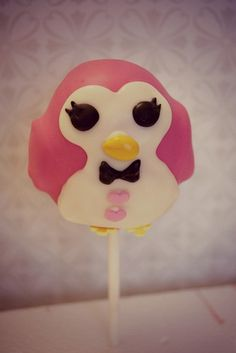penguin lalaloopsy pet cake pop