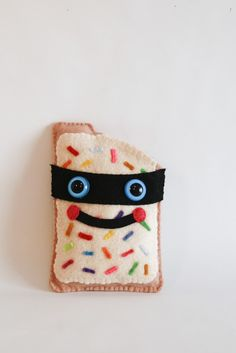 Secret Agent PopTart. Awesome~  The Munchkins would flip for some of these. (via http://www.etsy.com/shop/secretagents)