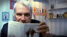 """Unser neues Format """"MEIN BUCH & ICH"""" feierte auf der Frankfurter Buchmesse 2016 Premiere. Mit dabei: Der niederländische Autor Adriaan va Dis mit seinem Buch """"Das verborgene Leben meiner Mutter"""", erschienen bei Droemer Knaur."""