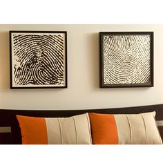 This service turns your fingerprints into canvas art. Awesome!