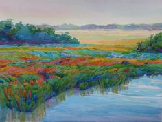 "Robin Purcell (Born 1956), ""LowCountry Colors, Boone Hall Plantation"""
