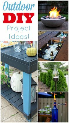 19 Amazing Outdoor DIY Project Ideas