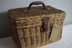 French Antique Basket