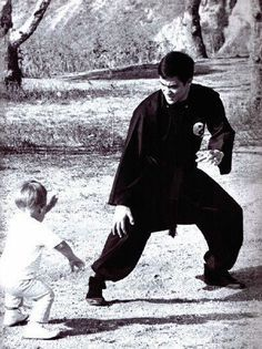 Brandon and Bruce Lee