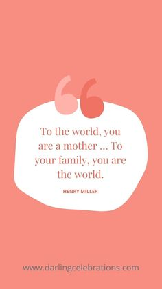 50 Motivational Mom Quotes and Inspirational Mom Quotes #motivationalmomquotes #inspirationalmomquotes #momquotes #newmomquotes New Mom Quotes, Inspirational Quotes For Moms, Motivational Quotes, Henry Miller, You Are The World, Hard Days, Your Family, Celebrations, Good Things