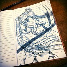 Draw sailormoon