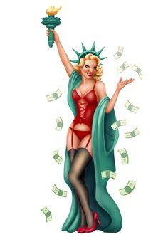 Statue of Liberty, Anna MannCo Statue Of Liberty Tattoo, Tattoo Sketches, Tattoo Inspiration, Girl Tattoos, Sleeve Tattoos, Sexy, Pin Up, Anna, Wonder Woman