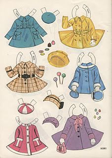 ✄ #Paper dolls......Simple Frills for girly little girls......Betsy McCall paper doll growing up (Page 1)