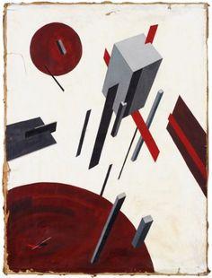 El Lissitzky, (1890-1941), ca. 1923, Proun 5A. on ArtStack #el-lissitzky #art