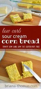 Sour Cream Cornbread THM.... I CAN HAVE CORNBREAD!!!!  :-DDD
