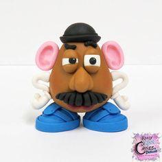 Mr. Potato Head Cake Topper