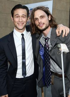 Joseph Gordon-Levitt and Matthew Gray Gubler, perfect lunch <3