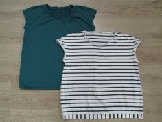 Shirts in Jersey cotton striped