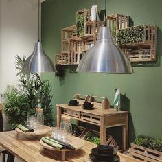 Ikea SKOGSTA crate wall storage