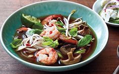 Spicy Shrimp Noodle Soup from the Cooking Light Diet