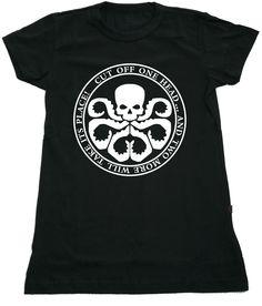 "Camiseta ""Hail Hydra"" da www.mypoptee.com.br"