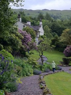 Cottage in Rydal Mount ~ Lake District, Cumbria, England Cumbria, Lake District, Beautiful World, Beautiful Gardens, Beautiful Places, English Village, English Cottages, British Countryside, England And Scotland