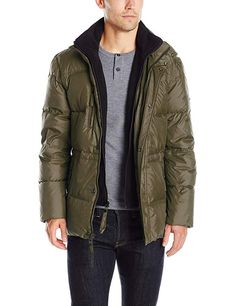 a525307ad830 Marc New York by Andrew Marc Men s Blizzard Down Parka with Fleece Bib  Review Best Winter