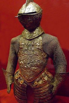 Armor steel embossed with traces of gilding French about 1575-1580 CE   Flickr: Intercambio de fotos