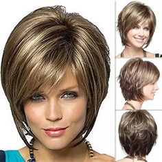 med haircuts for women over 50 Medium length layered