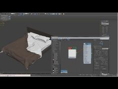 Interior Designing:Designer Bedsheet,Pillow,Blanket;Interiors with 3Ds Max & Marvelous Designer - YouTube