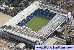 World Stadiums - White Hart Lane Stadium in London Soccer Stadium, Football Stadiums, Culture Of England, Tottenham Hotspur Players, White Hart Lane, Sport Of Kings, European Football, Ac Milan, Chelsea Fc