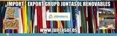 ENERGIAS RENOVABLES JUNTASOL: DISTRIBUIDORES DE PELLETS  GRUPO JUNTASOL