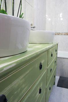 Ikea Hacks: De cómoda a lavabo doble para el baño   Decorar en familia   DEF Deco