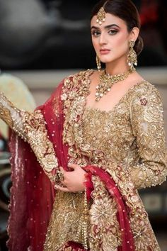 Bridal Shoot of Hira Mani for Nickie Nina – PK Fashion Time Pakistani Wedding Dresses, Pakistani Dress Design, Indian Dresses, Indian Clothes, Bridal Photoshoot, Bridal Shoot, Hira Mani, Bridal Dress Design, Bridal Looks