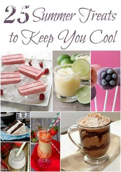Summer Treats to Keep You Cool #Frozen #IceCream #Recipes