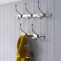 The Captain Hooks - Hooks & Coat Hooks - Wall & Floors - Home Accessories Graham, Downstairs Loo, Hallway Furniture, Dog Shower, Family Bathroom, Coat Hooks, Bathroom Styling, Dream Rooms, Home Bedroom
