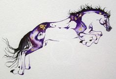 Some of the most beautiful artwork of horses that I have ever seen. Sarah Lynn Richards - Original Watercolors