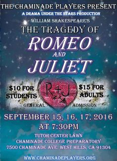 """Romeo and Juliet"" - Chaminade (September 2016)"
