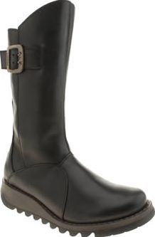 Fly London Black Mes 3 Womens Boots For your go-to boot this season, look no further than the Mes 3 from Fly London. The simple black leather style features buckle detailing on the outside, with subtle branding and a zip fastening for e http://www.comparestoreprices.co.uk/january-2017-8/fly-london-black-mes-3-womens-boots.asp
