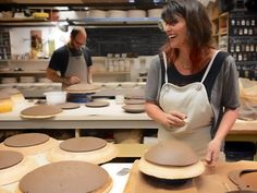 Ceramicist Mary Mar Keenan, who supplies some of San Francisco's top chefs with tableware, doesn't think a piece is finished until there's food on it.