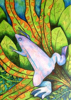 Something Is In The Water By Arpita Choudhury via The Science of Illustration