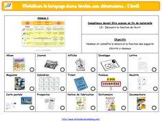 Mise à jour : programmations en maternelle (programmes 2015)