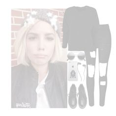 """""""•I find it very, very easy to be true I find myself alone when each day is through•"""" by cupcake-muke ❤ liked on Polyvore featuring Skullcandy, women's clothing, women, female, woman, misses and juniors"""