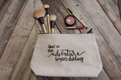 Make Up Bag    And so the adventure begins