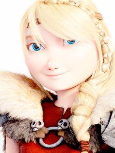 Astrid is very beautiful.