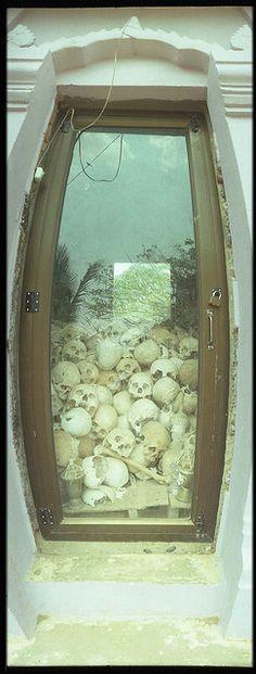 Killing Fields in Phnom Penh Cambodia