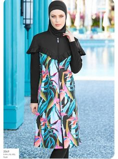 Full Cover Burkini Swimsuit 12049 is one of the most stylish set of 2019 spring - summer collection Full Cover Burkini Swimsuit 12049 details, clothes summer outfits hijab FULL COVER BURKINI SWIMSUIT 2049 Swimming Gear, Swimming Costume, Mode Simple, Modest Swimsuits, Red Swimsuit, Swim Dress, Spring Outfits, Spring Clothes, Modest Fashion