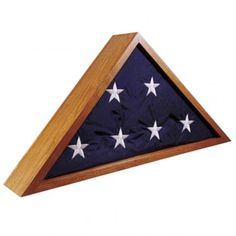 Flag Case Woodworking Plan. Gift making guide