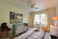 cowgirl inspired nursery via Cote de Texas by carrie leber, via Flickr